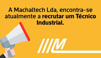 Vaga para Técnico/a Industrial.